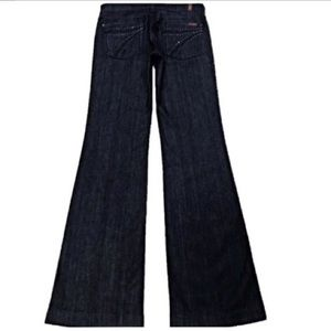 7 For All Mankind Dojo Crystal 29X35 Long Jeans